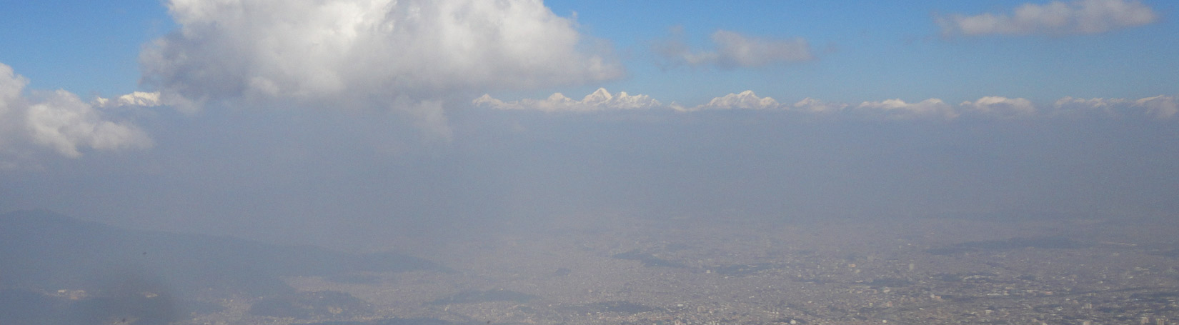 Kathmandu Valley, View From Champadevi Hill