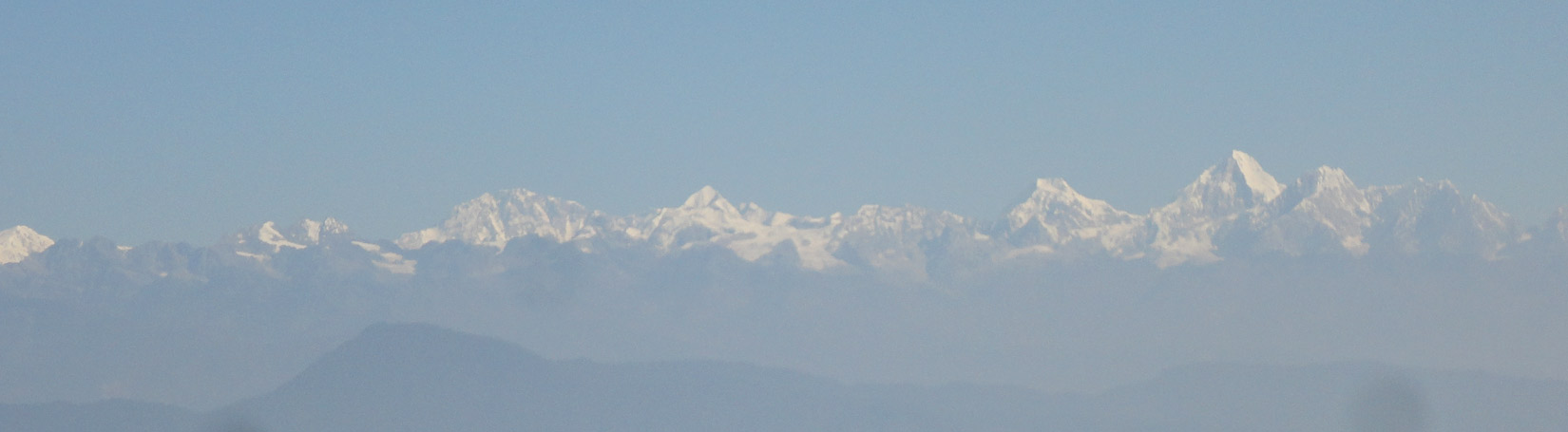 Langtang Range, View From Champadevi Hill