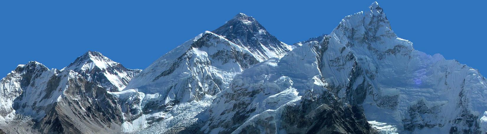 Mount Everest Lhotse Nuptse