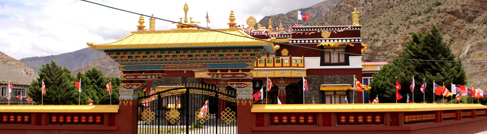 BUDDHIST MONASTERY IN JOMSOM