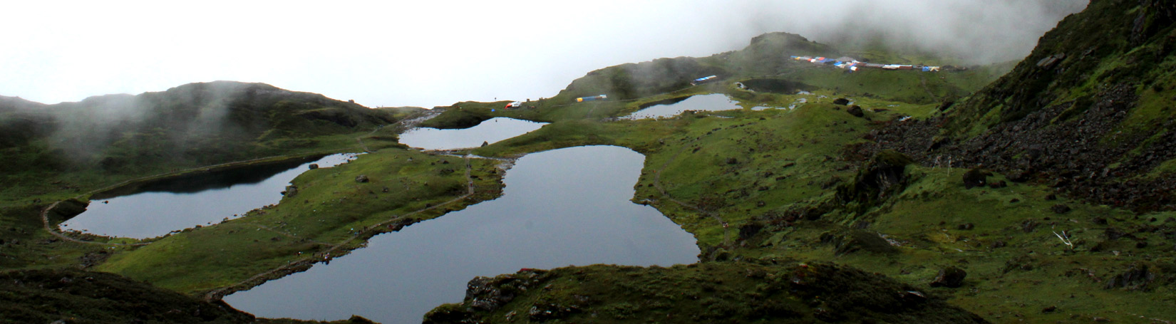 FIVE HOLY LAKES IN PANCH POKHARI