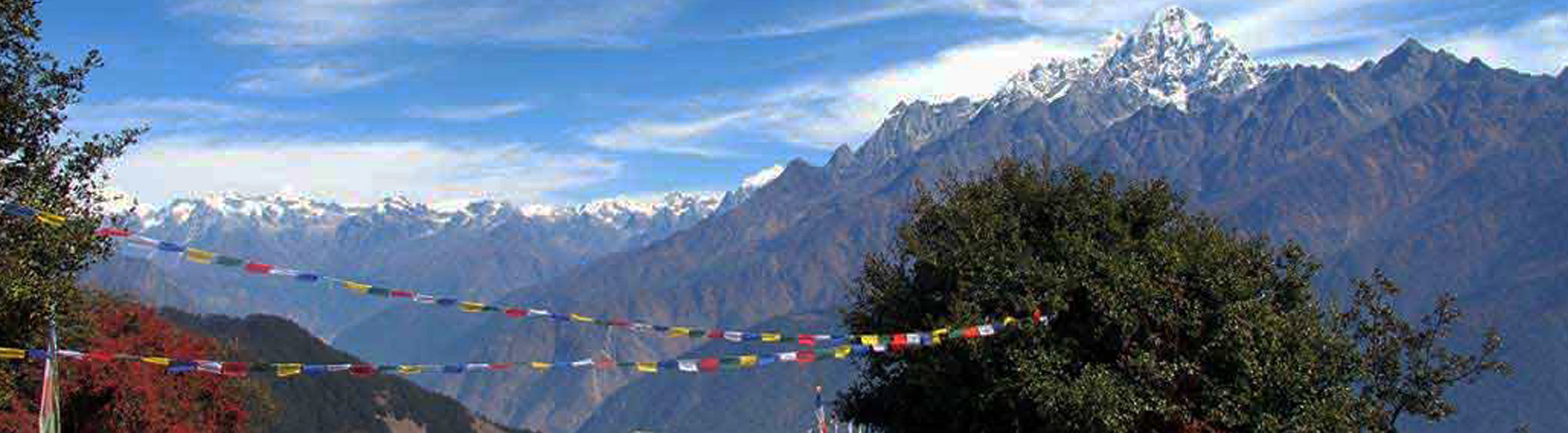 View of Langtang Range