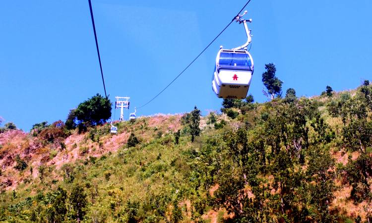 Cable Car in Panch Pokhari | Panch Pokhari Tour