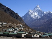 Khumjung Village and Ama Dablam