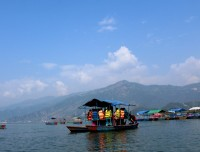 Group Boating in Phewa Lake