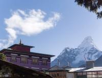Tengboche Monastery and Ama Dablam