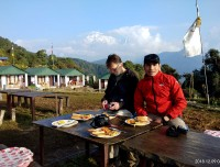 Breakfast at Australian Camp