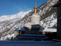 Buddhist Chortens (Stupa)