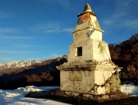 Old Chorten (Stupa) in Panch Pokhari
