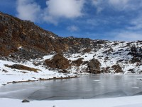 Panch Pokhari Ice Lake