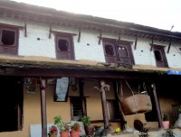 A typical Gurung home in Ghandruk